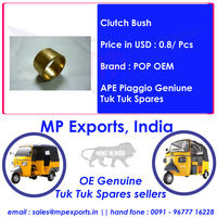 Genuine Tuk Tuk Spares Clutch Bush Ape