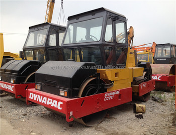 used original Sweden Dynapac CC211 compactor for sale
