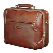 "hot sale fashionable laptop bags / 12"" laptop messenger bags with business style / top open leather laptop bags"
