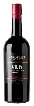 Zandvliet VLW Shiraz Dry Red Wine aged in old French Oak Barriques