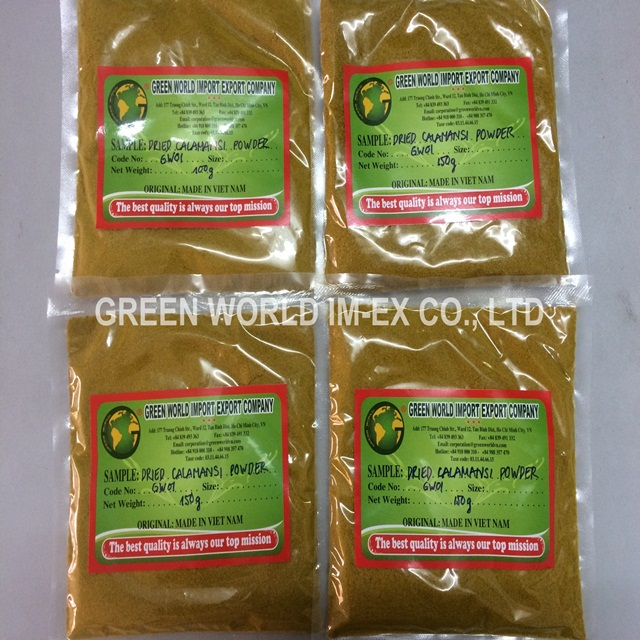 THE MOST COMPETITIVE PRICE OF HIG QUALITY CALAMANSI PUREE IN VIETNAM