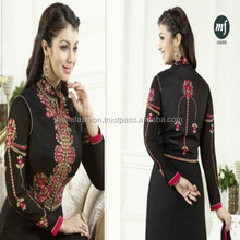 Latest Indian and Pakistani Wedding and Party Wear Heavy Embroidery Designer Straight Suits