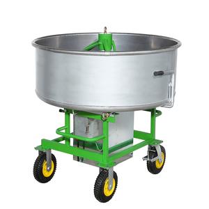 Custom mini vertical planetary concrete pan mixer