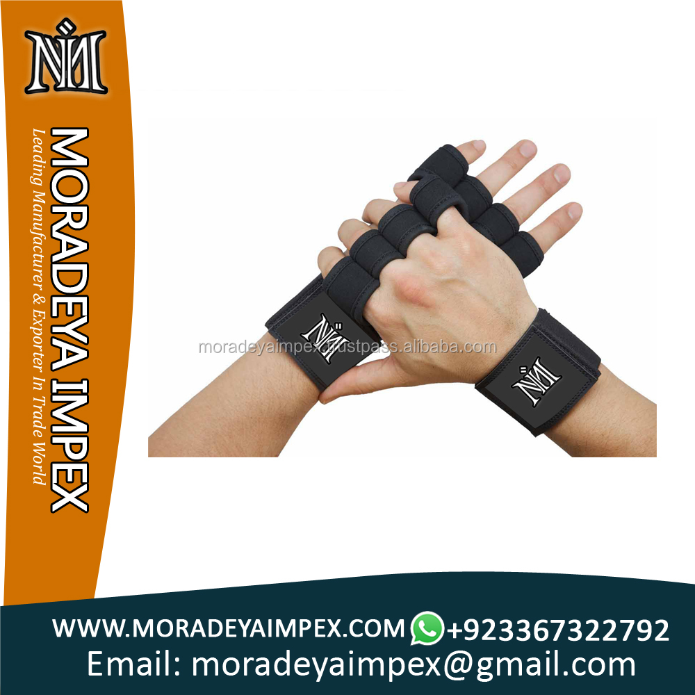 Weightlifting Gloves With Wrist Wrap Gym Workout Gloves