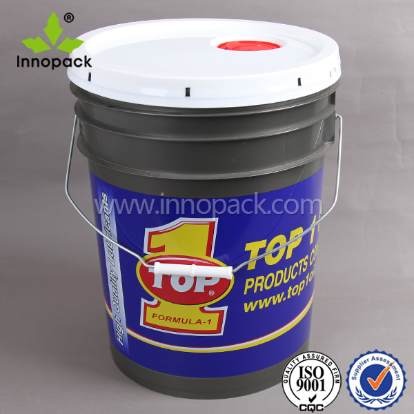 20 liter drum of paint plastic water drums plastic pail with lid