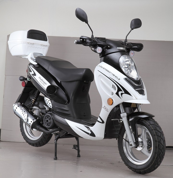 BRAND NEW: 150cc Challenger Sport Moped Scooter