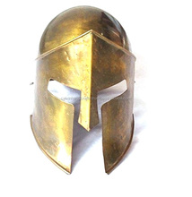 Crusader Great Helm Brass Antique Medieval Knights Helmet Armor Helmet by brass CHMH30026