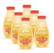 Evian infused x Kusmi White Tea fuit Flavored Water 375ml