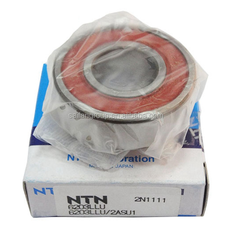 Original NTN Inch Deep groove ball bearing 6303-15 size 15*47*14mm
