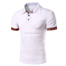 New Fashion Men,s Short Sleeve Plain Polo T Shirt