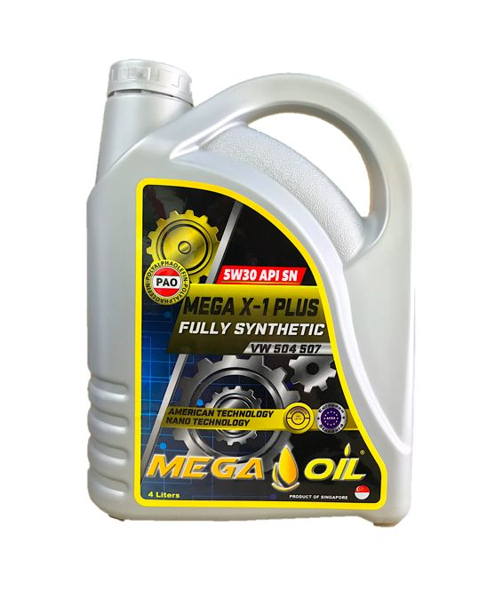 MEGA X-1 PLUS PAO 5W30 FULLYl, Motor Engine Oil, Diesel Engine Oil, Gear Oil