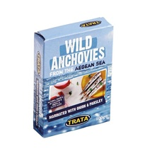 Trata - Wild Anchovies Fish Marinated with Onion & Parsley 100g