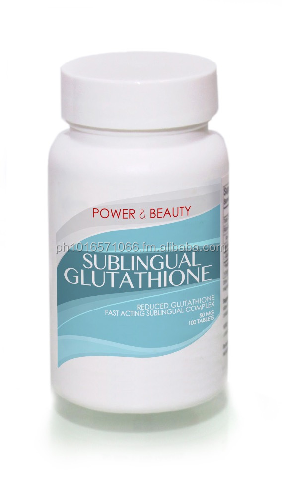Power and Beauty Sublingual Glutathione