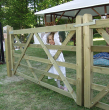 Field Gates and garden-gates in treated softwood.