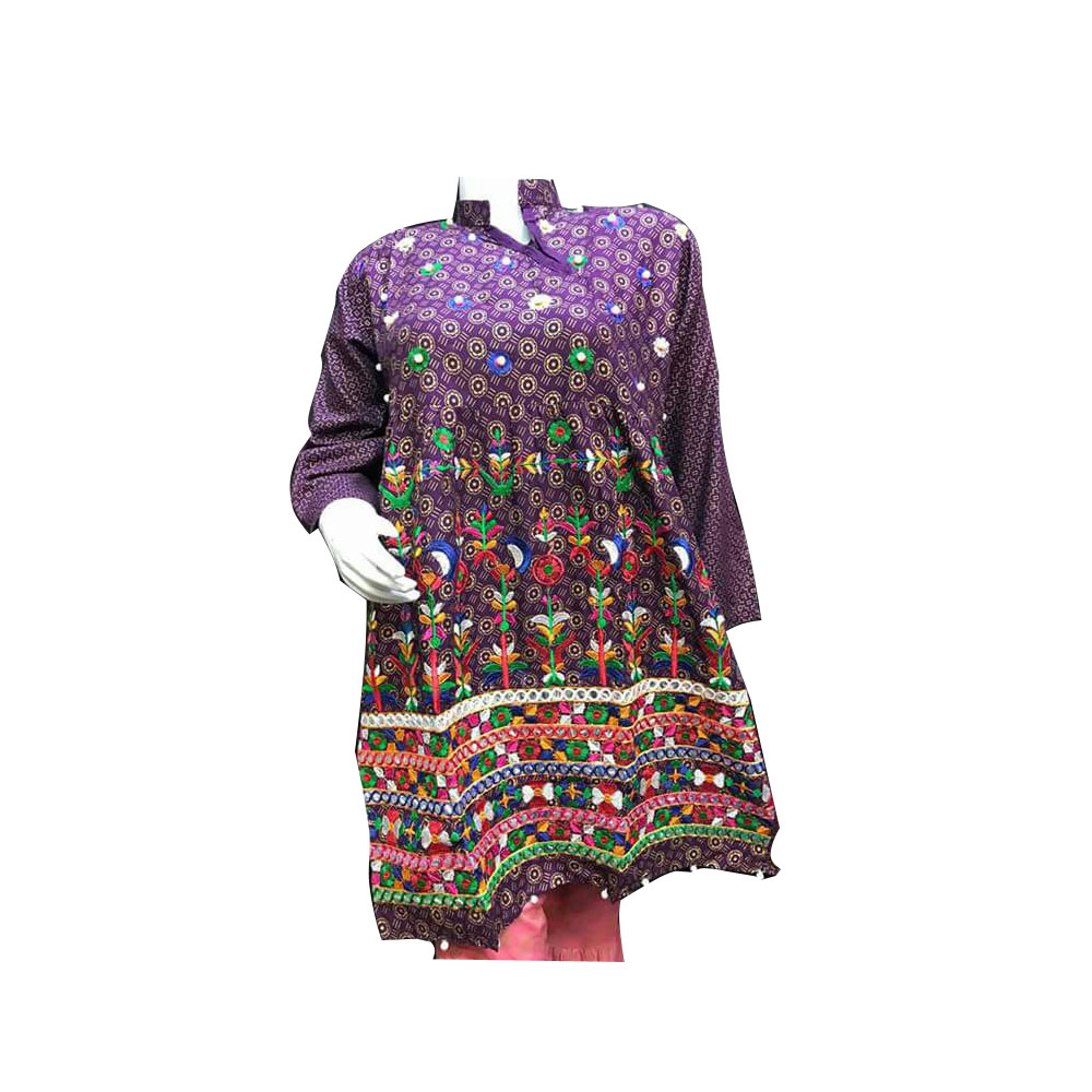 Unique Embroidery Girls Kurti