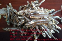 Dried anchovy and dried yellow stripe trevally from Viet Nam