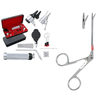 BRAND NEW OTOSCOPE & OPHTHALMOSCOPE Set ENT Surgical Instrument+2 BULB & 1 FORCP