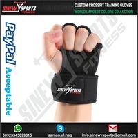 Workout Gloves With Wrist Support for Cross Training, CrossFit, Weightlifting, Pullups, Gym, Powerlifting.