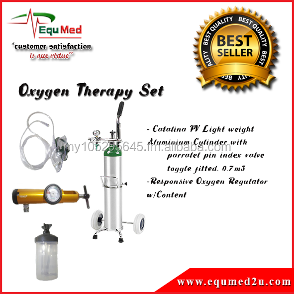EQUMED Portable Oxygen Therapy Set 0.7L