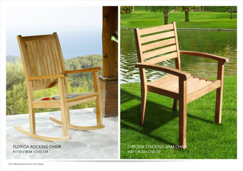 Chelsea Stacking Chair Outdoor Furniture
