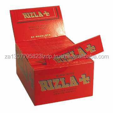 RIZLA RED/GREEN/SILVER/BLUE CIGARETTE ROLLING GENUINE PAPERS ORIGINAL/REGULAR