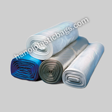 HDPE Black Garbage Bags / Trash Bags on roll