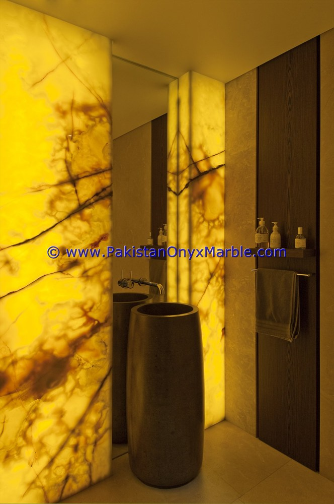 Back lit Decorative Green Onyx Composite Panel