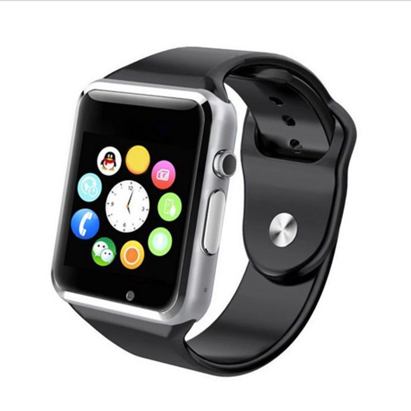 A1 Smart watch with Sim card and camera bluetooth smartwatch with whatsapp and facebook for ladies