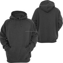 Wholesale Men's outdoor sport custom plain 80% cotton 20% polyester fleece pullover hoodie Cheap blank pullover hoodies for sale