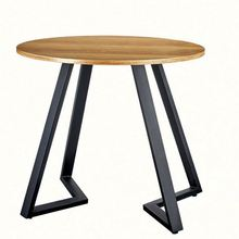 L-home Wholesale factory Living Room <strong>Furniture</strong> round wooden legs modern table ,cheap glass coffee table