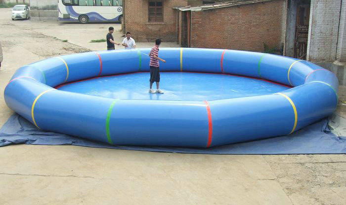 Large Round Inflatable Adult Family Pool , Inflatable Swimming Pools