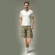 Rubber Logo Men Cargo Short,HRI Embroider Logo Mens Cargo Shorts