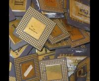PENTIUM PRO GOLD CERAMIC CPU SCRAP HIGH GRADE CPU SCRAP, COMPUTERS scrap