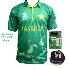 ICC Worldcup Cricket T20 2016 Pakistan HS or CA T-Shirt Jersey