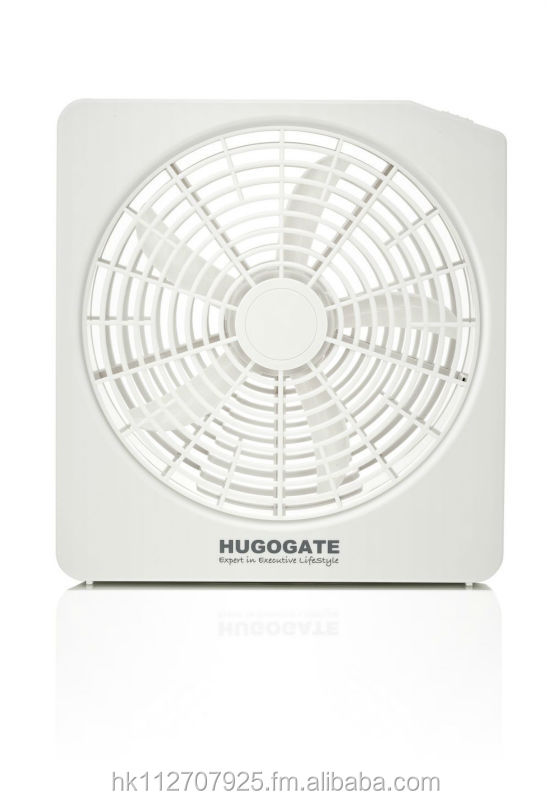 "10"" Outdoor/Indoor Battery Operated Fan (Curve Blade Version)"