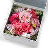 Popular Style Preserved Valentines Day Pink Rose Flower Designs