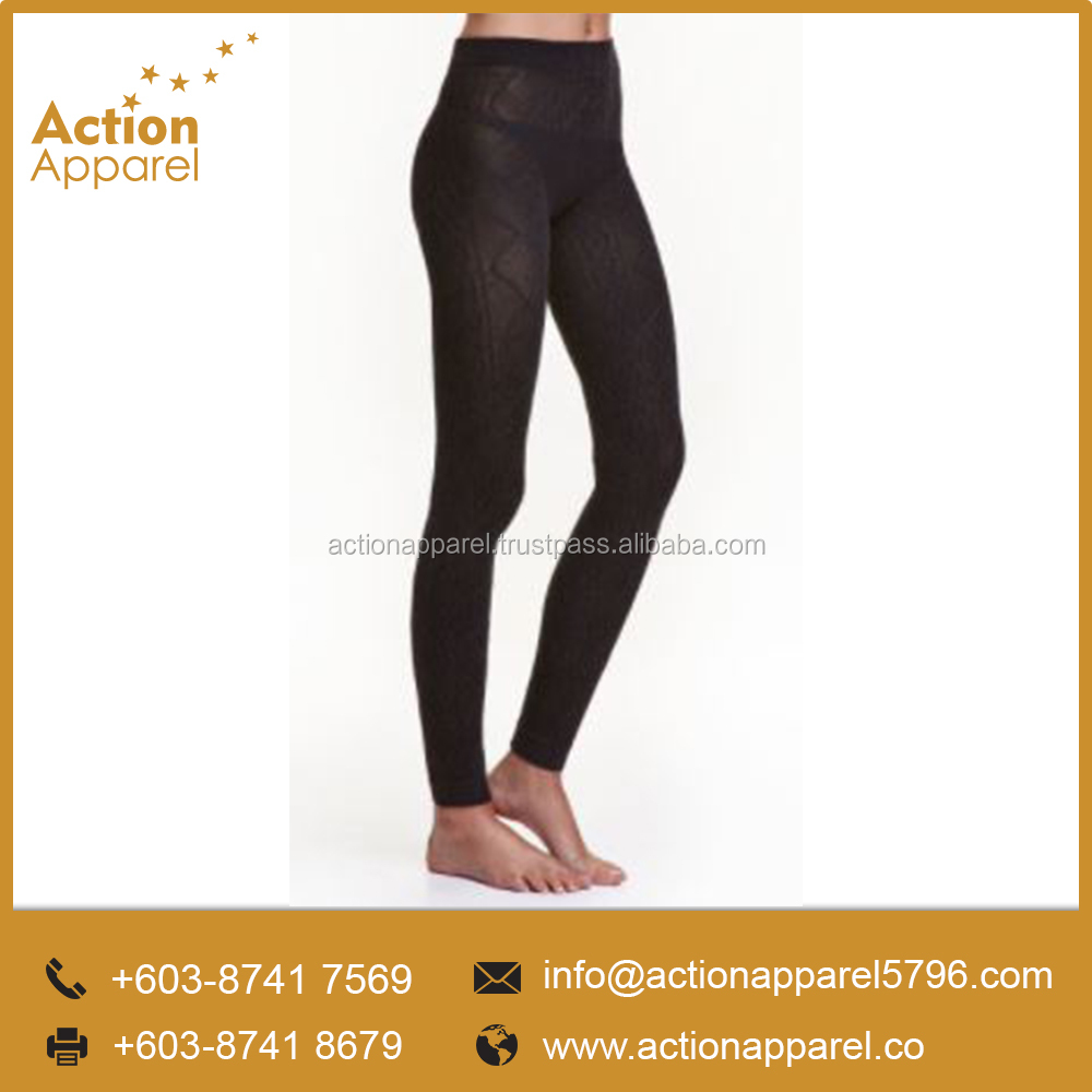 High Quality Custom OEM Knitted Tight Leggings