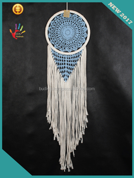 Manufacturer Home Decor Hanging Art Beutiful Dream Catcher Macrame