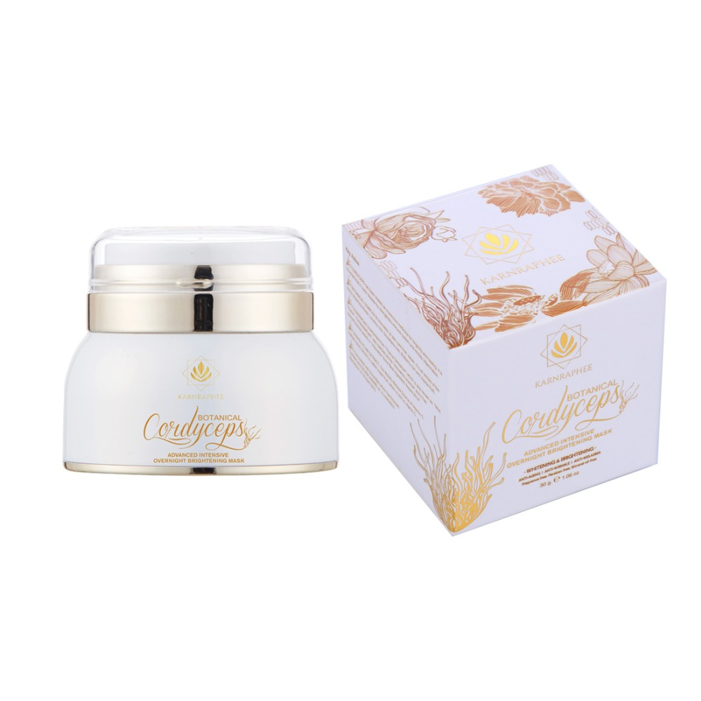Botanical Cordyceps Advanced Intensive Overnight Brightening Mask Anti Melasma and Anti Wrinkle Cream