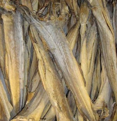 Dried Salted Cod Fish Butterfly Variety Pollock