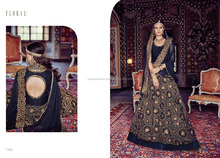 Wholesale Designer Wedding bridal long net latest hand work Salwar Kameez suit designs