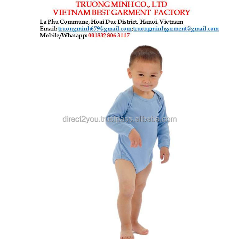 Wholesale Baby Rompers Newborn Clothes in Vietnam