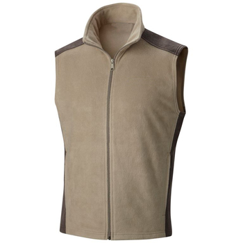 Casual Fleece Sleeveless Zipper Up Jackets Vest for Men 2019