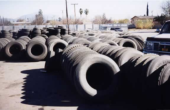 All Kinds of Used Passenger Car Tires