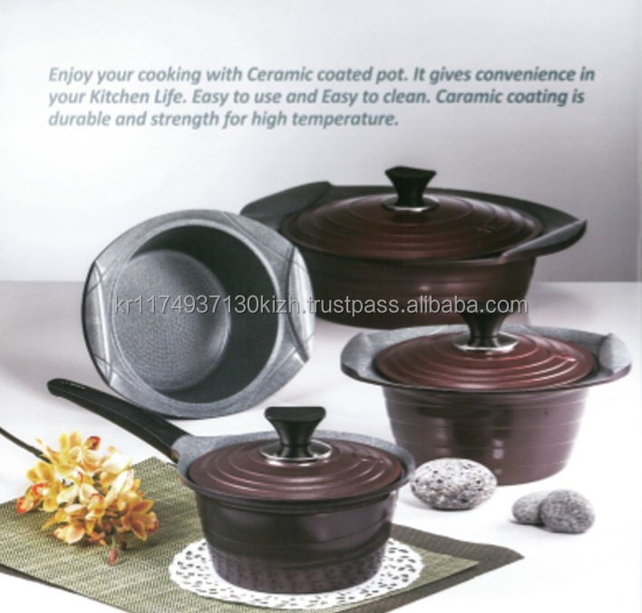 ceramic marble coating for kitchenware