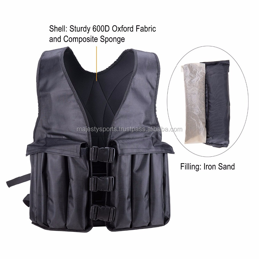 custom weighted vest running vest cross fit gear high quality fitness wear