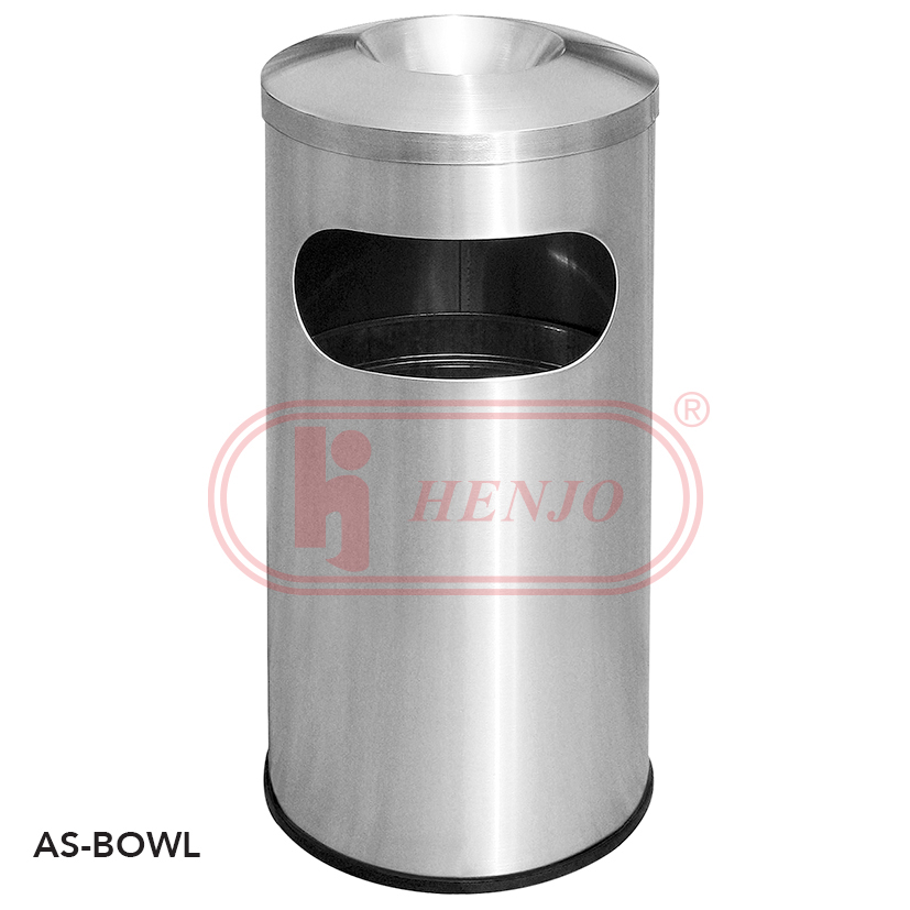 40L Stainless Steel Ashtray Waste Bins Malaysia