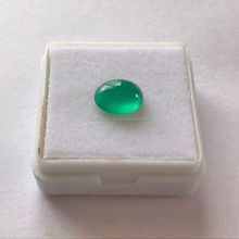 Nice green oval cabochon wholesale lot emerald