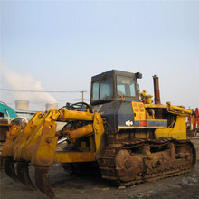Low price Komatsu D155 crawler bulldozer, Cheap used Komatsu D155-A on sale in Shanghai
