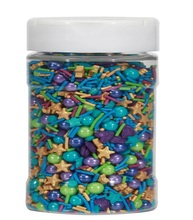 Assorted sprinkle for cake decoration